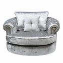 Canterbury Silver Swivel sofa Chair Canterbury Silver Swivel sofa Chair