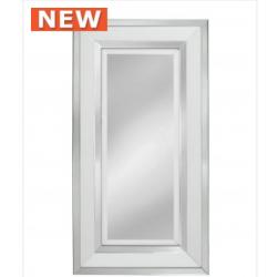 White Manhat Wall Mirror