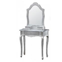 Silver embossed Metal Dressing Table
