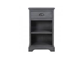 Grey Deltia Bedside Cabinet