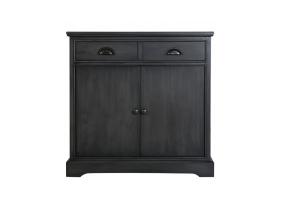 Grey Deltia 2 Drawer 2 Door Sideboard