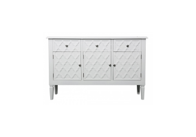 Cassidy White Wood Sideboard
