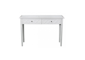 Cassidy White Wood Console Table