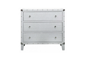 White Allora Large Bedside Cabinet