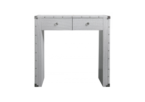 White Allora Console Table