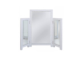 White Allora Vanity Mirror