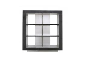 Aurelia Dark Grey Walnut Display Cabinet