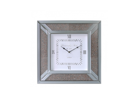 Smoked Copper Millanno Mirror Wall Clock