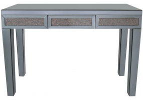 Smoked Copper Millanno Mirror Console Table