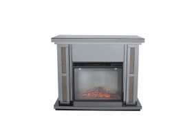 Smoked Copper Millanno Mirror Fire Surround