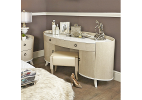 Auguri Light Walnut Dressing Table