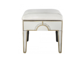 Leonardo Antique Mirror Stool