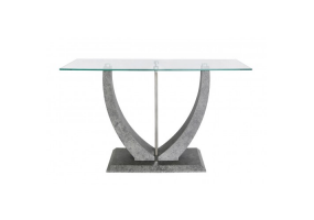 Lexus Grey Console Table