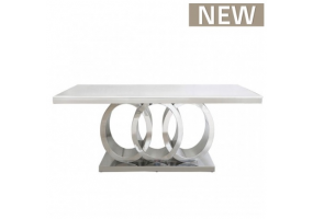 Athena Natural Marble Dining Table