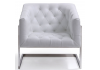 White Mambo Easy Chair