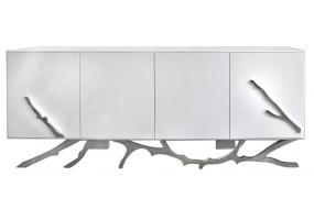 White Mambo 4 Door Sideboard