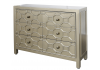 Gold Geo 6 Drawer Chest Of Drawers / Sideboard
