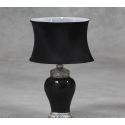 Small Mosaic Table Lamp - Black