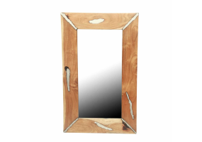 Balley Wood Wall Mirror