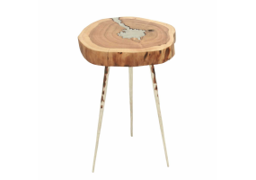 Balley Wood End Table