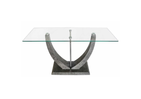 Leon Grey Console Table