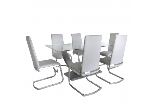 Leon Grey Dining Set