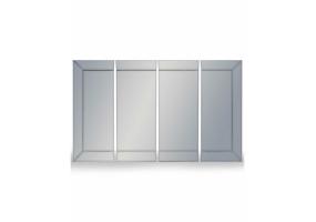 Venetian 4 Piece Panel Mirror