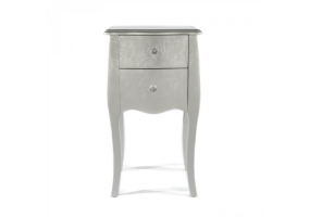 The Alchemist Silver Gilt Leaf Bedside Table