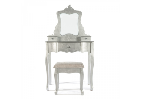 Silver Gilt Leaf Dressing Table Set