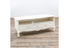 Rose White - Soft White Media Unit - 2 Drawers