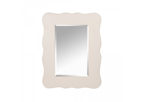 Rose White - Soft White Large Mirror