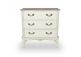 Appleby Wood Top Chest of 3 Drawers