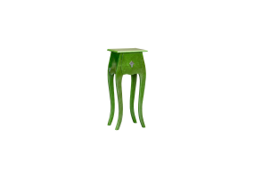 High Gloss Green Bedside Cabinet