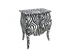 Lounge Lizard Zebra Bombe Chest