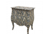 Lounge Lizard 2 Drawer Leopard Print Bombe Chest