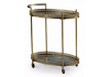 Antique Gold Metal Trolley