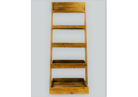 RECLAIMED PINE SHELF UNIT BOOKCASE