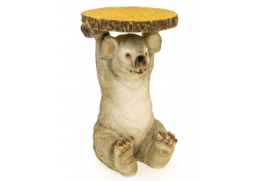 "KOALA HOLDING ""TRUNK SLICE"" SIDE TABLE"