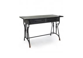 """Black Metal """"Verne"""" Desk/Table"""