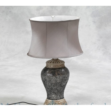 how to make an oval lamp shade