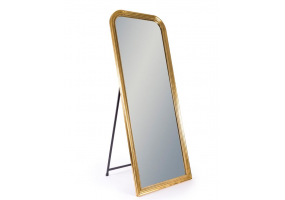 Antique Gold Beaded Wall & Freestanding Mirror