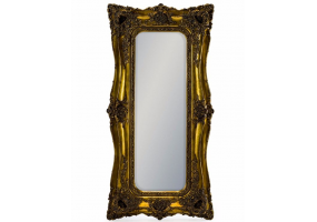 Tall Gold Classic Mirror