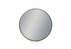 Medium Round Gold Framed Arden Wall Mirror