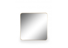 Large Square Gold Framed Arden Wall Mirror