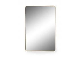Large Rectangular Gold Framed Arden Wall Mirror