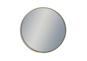 Giant Round Gold Framed Arden Wall Mirror