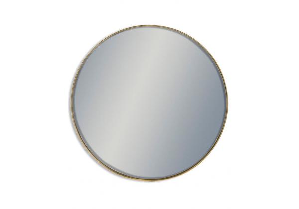 Giant Round Gold Framed Arden Wall Mirror