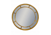 Gold Round Multi Mirror