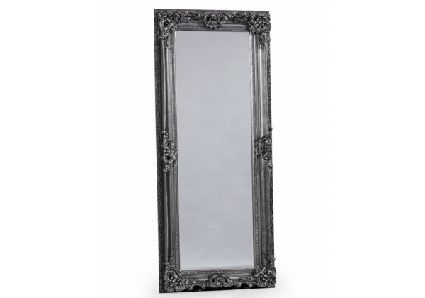 Antique Silver Tall Regal Mirror