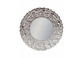 "Round ""Glitz"" Venetian Wall Mirror"
